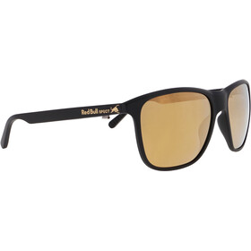Red Bull SPECT Reach Sunglasses Men, matt black/brown-bronze mirror